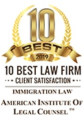 10 Best Immigration Law Firm 2019